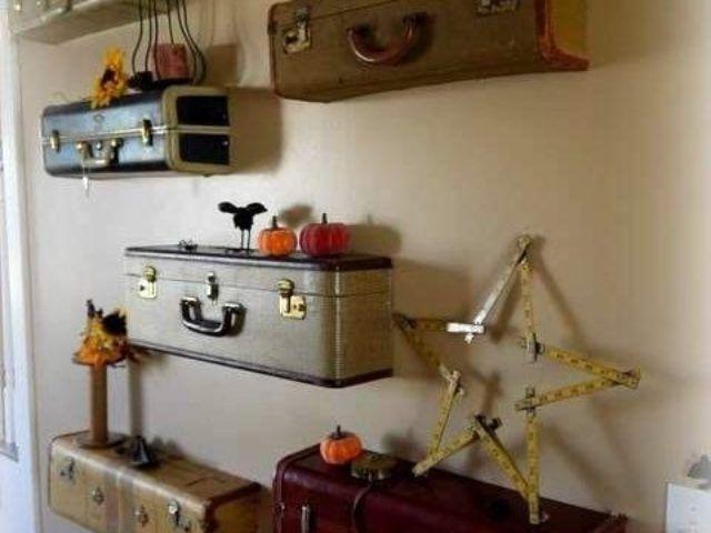 Новая жизнь старого чемодана — фотоподборка 9