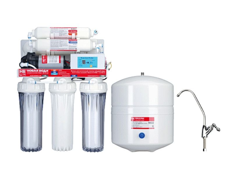 Установка фильтров воды