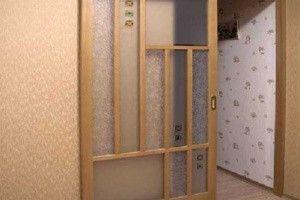 Установка межкомнатных дверей-купе