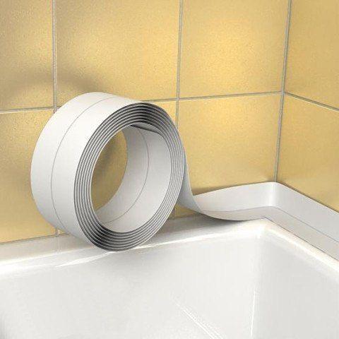Как сделать бордюр между ванной и стеной
