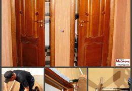 Выбор дверей в туалет или ванную комнату и установка своими руками