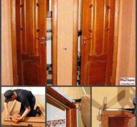 Выбор дверей в туалет или ванную комнату