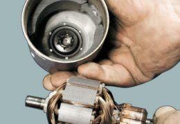 Проверка и ремонт якоря болгарки своими руками
