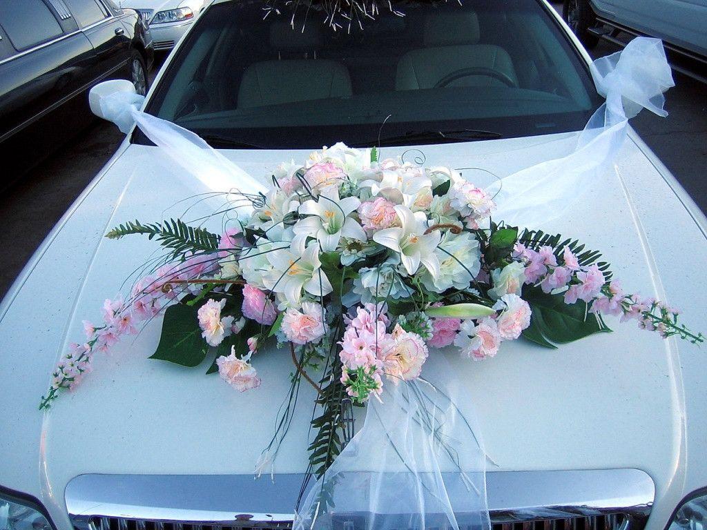 Украшение свадебной машины 🔴 Украшение свадебной машины