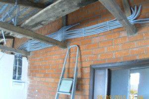 услуги электрика электропроводка частного дома