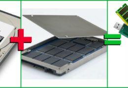 HDD + SSD  гибридный HDD – лайфхак для компьютера