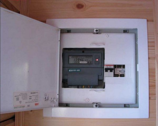 установка или замена электросчетчика