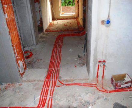 замена электропроводки в доме (Курчатовский р-н)
