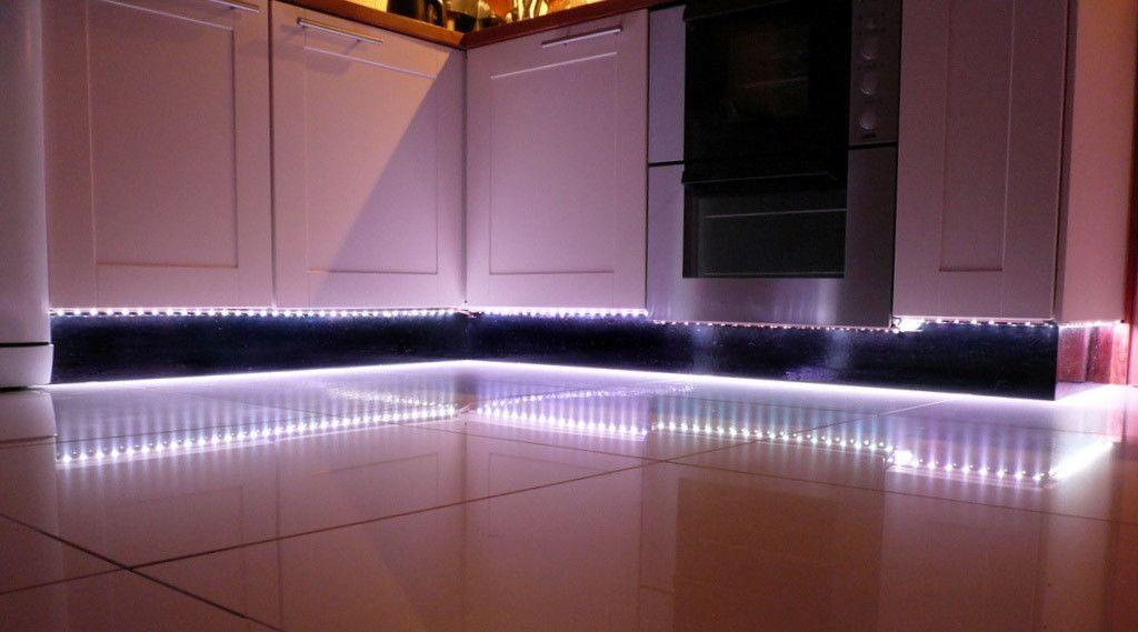 подсветка шкафа на кухне