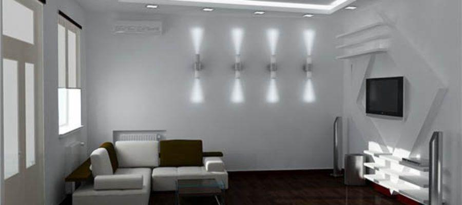 светодиодное освещение гостинной