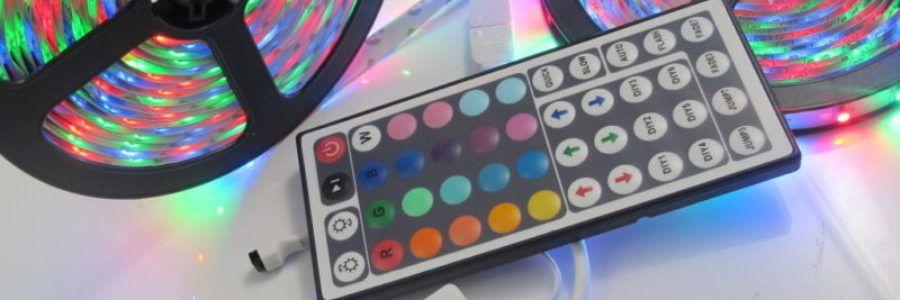 Лента цветная светодиодная 5050 7,2W-30 90 руб./м