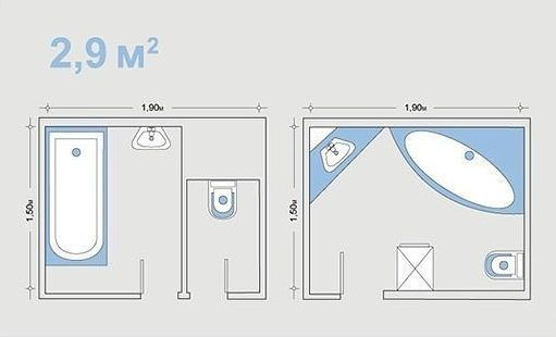 planirovkavannoi29m2 🔴 Варианты перепланировки ванной комнаты