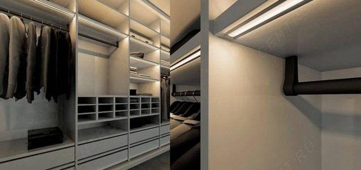подсветка шкафа-купе