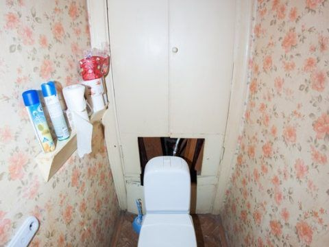 ремонт в туалете до