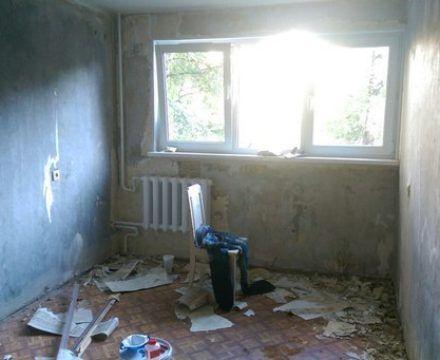 ремонт квартиры (труда,56) до