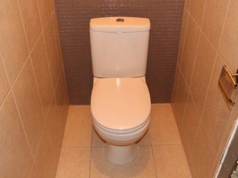 ремонт в туалете после