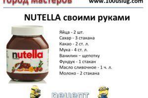 Как приготовить шоколадную пасту
