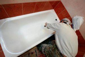 Замена или установка ванны