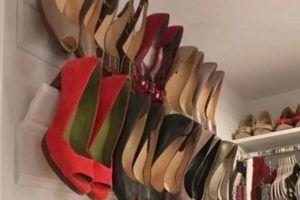 карниз для хранения обуви
