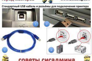 5 способов подключения к принтеру - Компьютер и интернет на Город мастеров 1