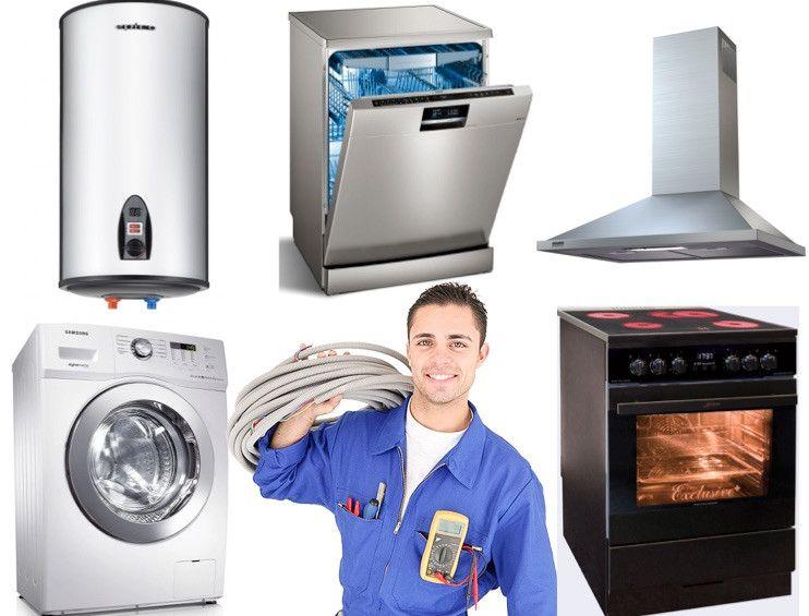 установка стиральных и посудомоечных машин