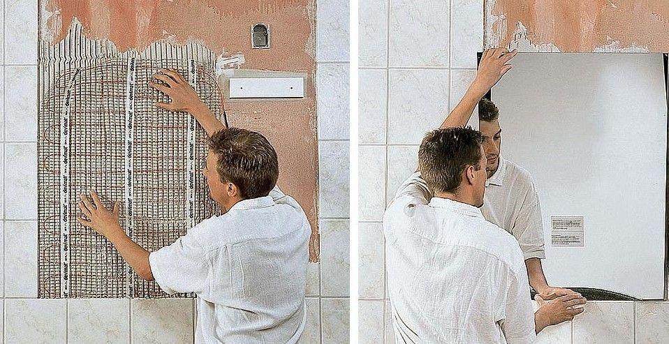 ЗЕРКАЛО С ПОДОГРЕВОМ ДЛЯ ВАННОЙ - отличный способ избавиться от запотевания. Если в ходе ремонта ванной комнаты дополнить зеркало системой подогрева, вам не придется протирать его каждые 10 секунд, пока вы бреетесь или приводите себя в порядок после душа.