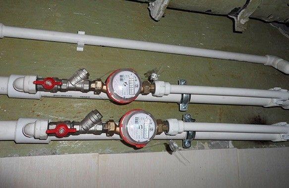 порядок установки счетчика воды