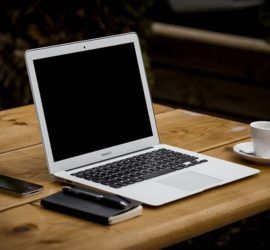 Business Office Workstation Macbook Air Notebook