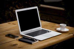 Business Office Workstation Macbook Air Notebook