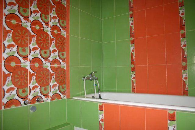 Цветовой дисбаланс - ванна становится излишне монотонной или напротив аляповатой.