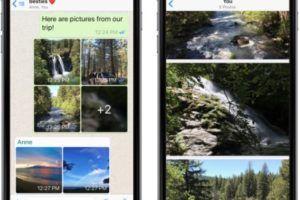WhatsApp обновление для iOS Добавлены фильтры фотографий и автоматические альбомы - Компьютер и интернет на Город мастеров