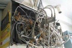 Как не надо делать электромонтаж