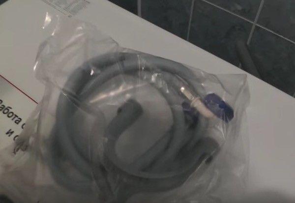 услуга подключение стиральной машины