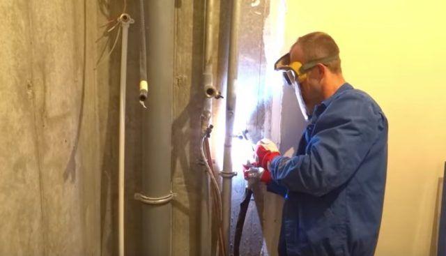 Разводка водопровода и канализации в квартире