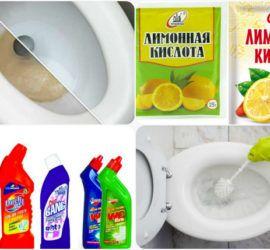 Чем отчистить унитаз от ржавчины - 3 способа - Лайфхак - хитрости и неожиданные советы Советы по сантехнике советы хозяйки на Город мастеров