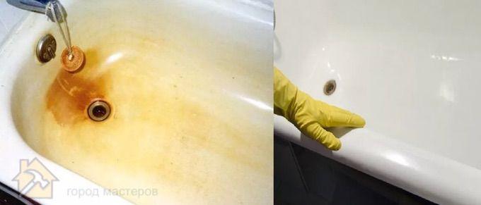 Пятна от ржавчиныоткуда они берутся 🔴 Чем и как отчистить унитаз от ржавчины