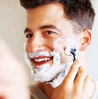 Подготовка кожи для бритья станком