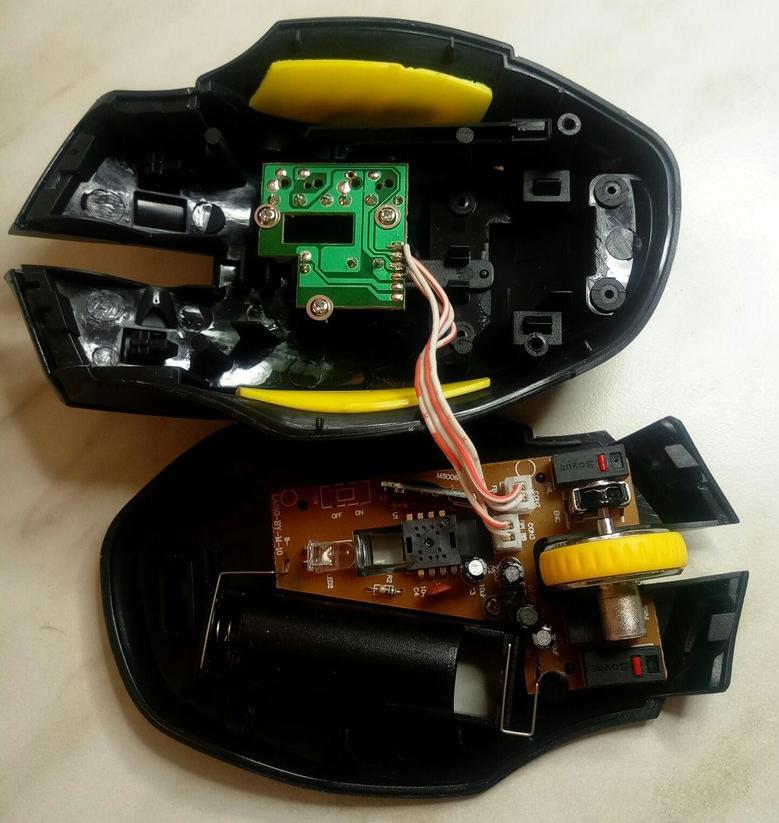 Мышка ремонт своими руками 83