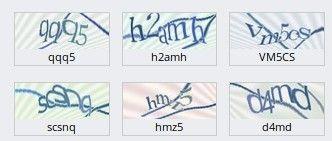 текстовая КАПТЧА в контакте