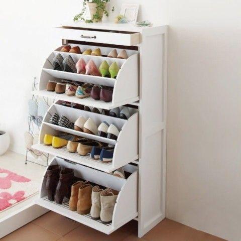 идеи хранения обуви - фотоподборка