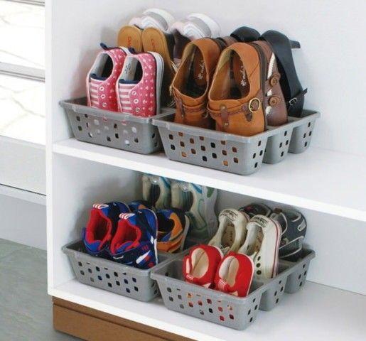 несколько идей хранения обуви - фотоподборка