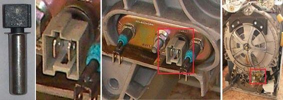 датчик температуры стиральной машины аристон