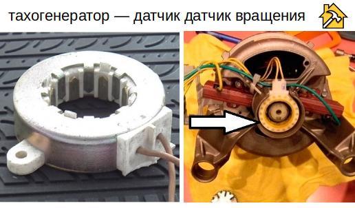 датчик вращения стиральной машины аристон