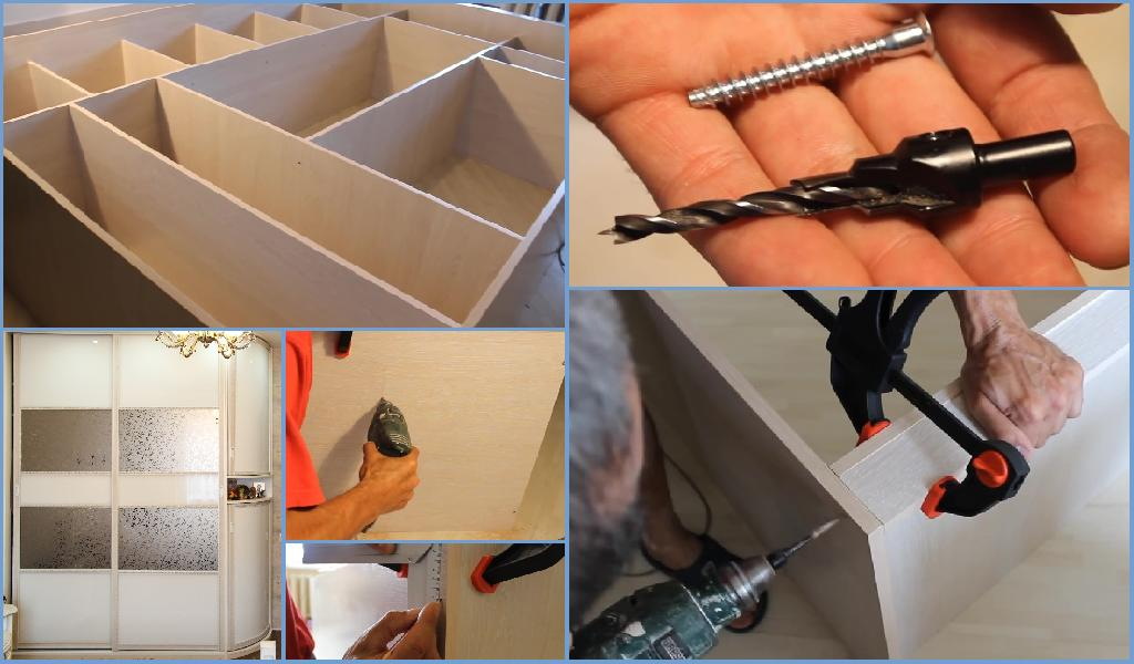 сборка шкафа с раздвижными дверями🔴 сборка шкафа с раздвижными дверями