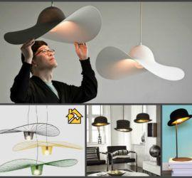 Как сделать стильный светильник из шляпы - советы домашнего мастера советы по электрике на Город мастеров 3