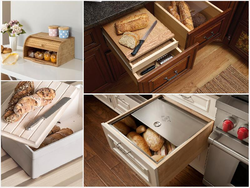 идеи для хранение хлеба