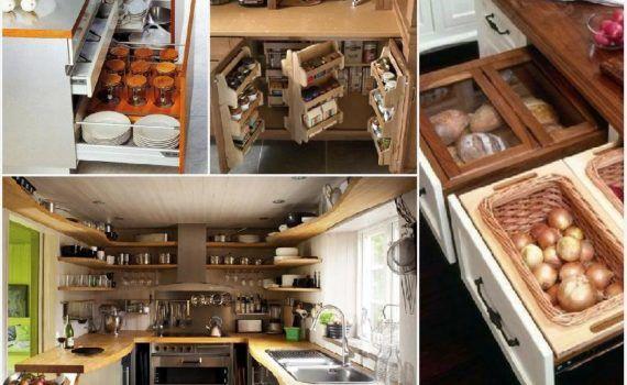 11 идей - системы хранения для кухни - Дизайн и интерьеры на Город мастеров 5