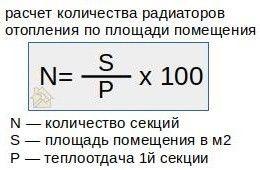Упрощенная формула для стандартной квартиры