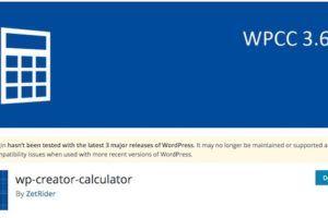 wp creator calculator - ошибки калькулятора для wordpress
