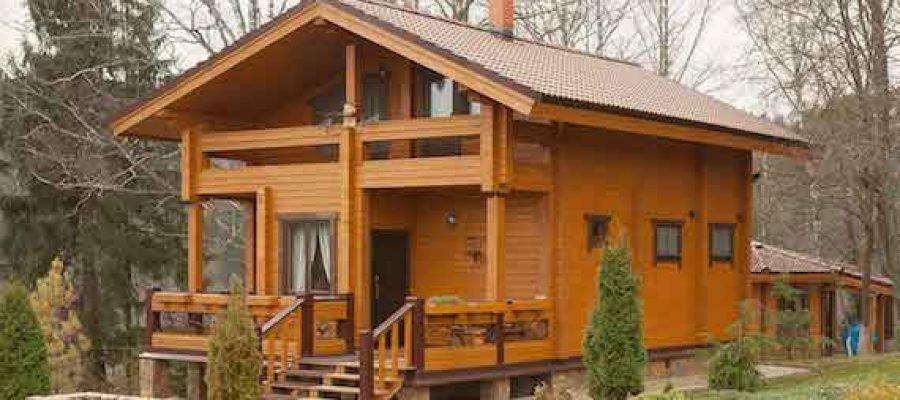 Дома и бани из клееного бруса: надежный и красивый материал 1